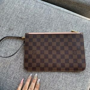 Louis Vuitton Neverfull Wristlet